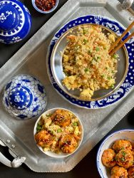 Cauliflower Fried Rice is a wonderful low carb alternative to traditional fried rice.