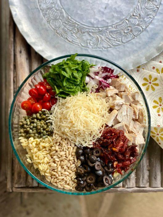 Insalata Chicken Florentine (Copycat Macaroni Grill) Ingredients