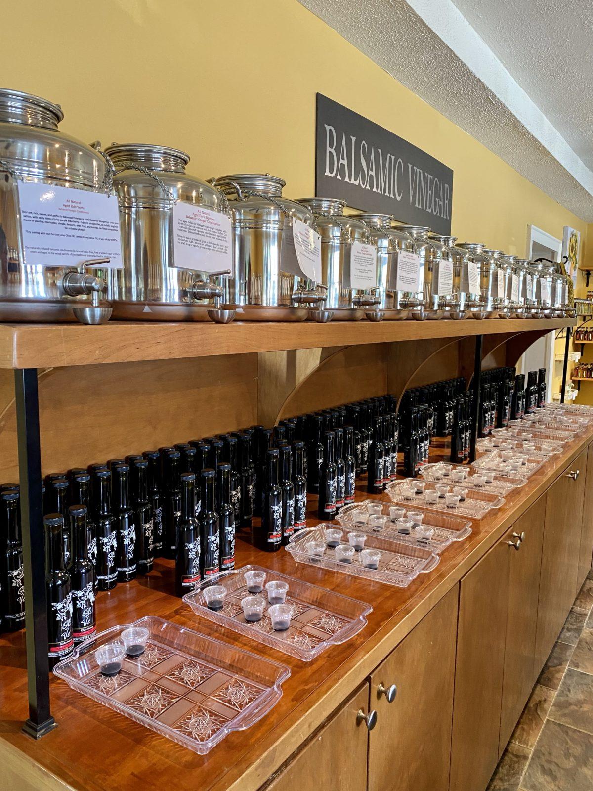 Olive Oil & Balsamic Tasting Store
