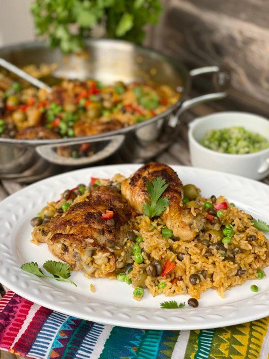 Arroz con Pollo aka Latin Chicken and Rice