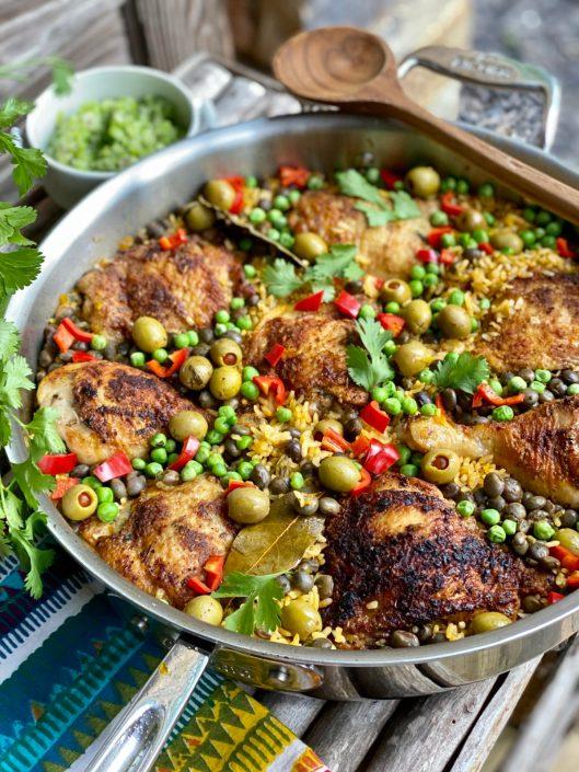 Arroz con Pollo aka Latin Chicken & Rice