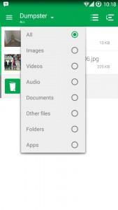 Pilih jenis file