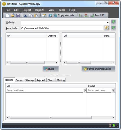 website webcopy offline browser
