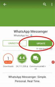 memperbaharui-whatsapp, update WhatsApp