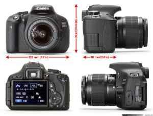 Desain Canon EOS 600D - Harga Kamera Canon 600D 2