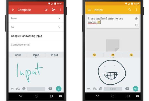 Aplikasi Google Handwriting Input