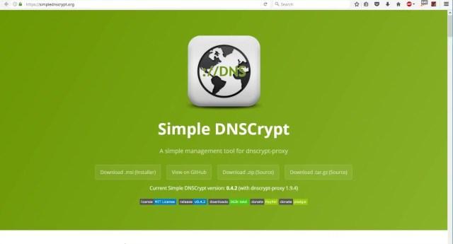 Gunakan Simple DNSCrypt