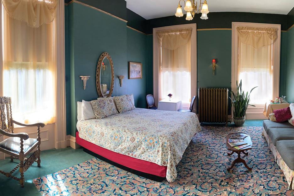 Inn  Overnight Accommodations  The Lemp Mansion  St