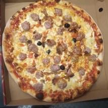 Pizza rougail