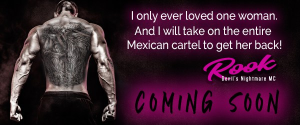 Rook: Devil's Nightmare MC is Coming Soon! Read the Prologue now…#giveaway #romance #MustReads