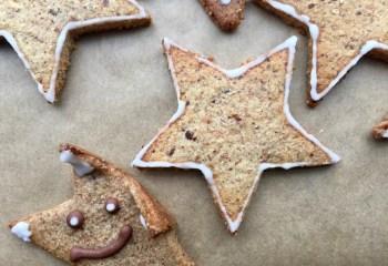 имбирные печенья без сахара