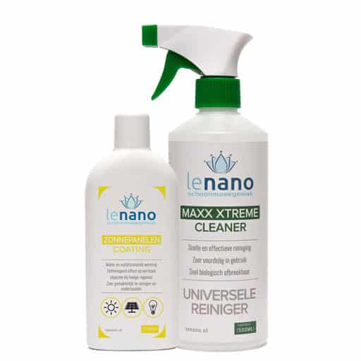 Lenano Zonnepanelen Nano Coating Set