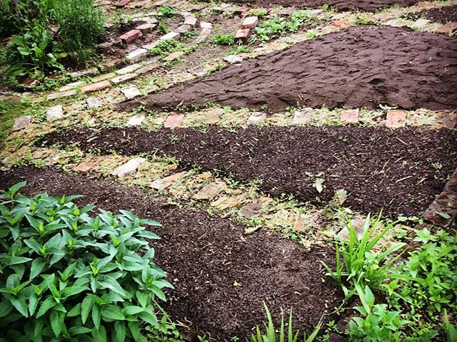 Composted up and almost ready for planting