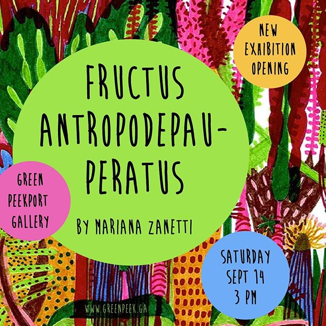 The garden exhibition space is opening a new show. Come by this Saturday to check the artwork by @mariana__zanetti