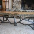 Live edge coffee table lena sherbakov
