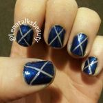 Tips for using striping tape on your nails