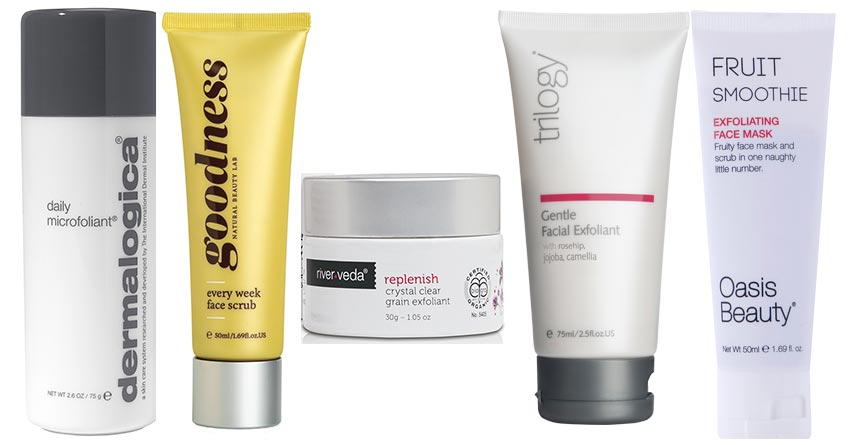 The 5 best exfoliators without microbeads