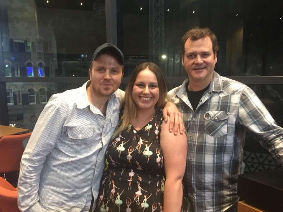 Gareth Reynolds, Dave Anthony from The Dollop podcast with Lena Talks