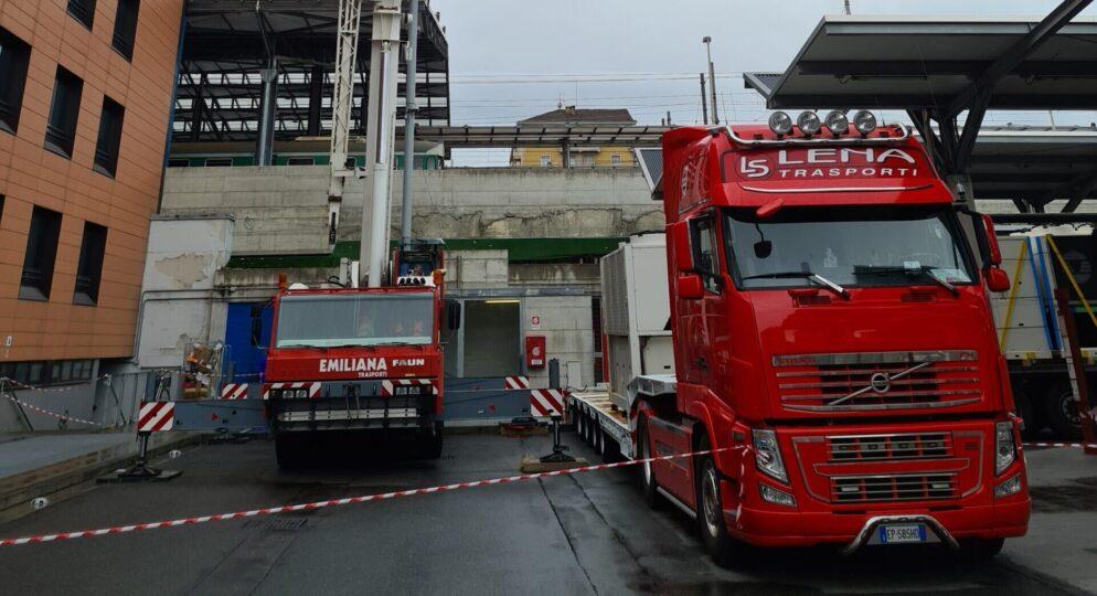 TRASPORTO ECCEZIONALE - Lena Trasporti - Trasporto macchinari industriali