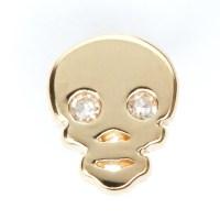 diamond skull earring - lenawald