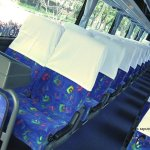 Interior Bus Pariwisata - Purnayasa