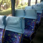 Interior Bus Wisata Pakar Utama