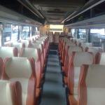 Bus Pariwisata Desiana - Interior