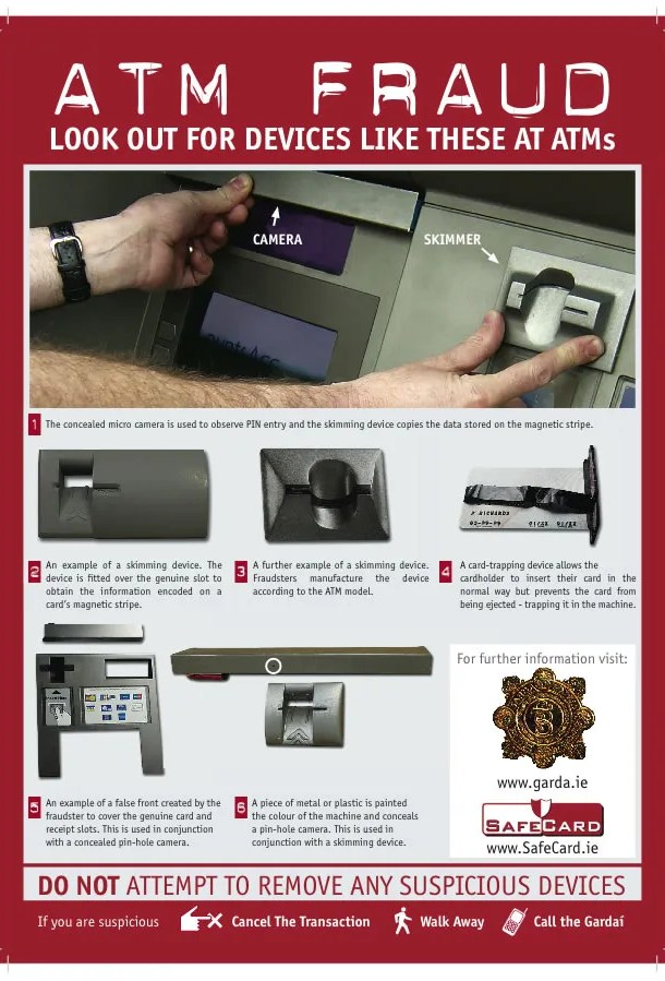 ATM Fraud from SafeCard
