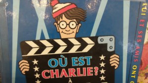 Waldo is called Charlie in French, Walter in German. And after I posted this on facebook I found out that Walter in French is Gautier. Mind. Blown.