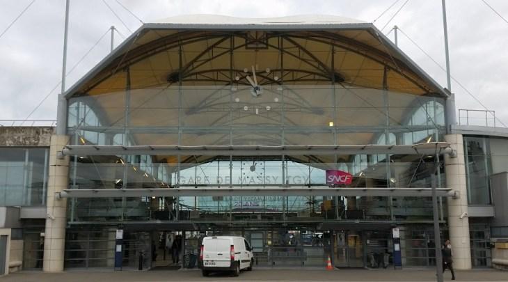 Massy Palaiseau TGV station