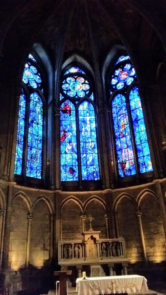 Chagall's windows.