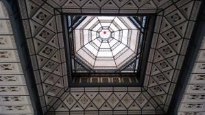 Schœlcher library ceiling