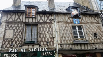 timbered house in Blois