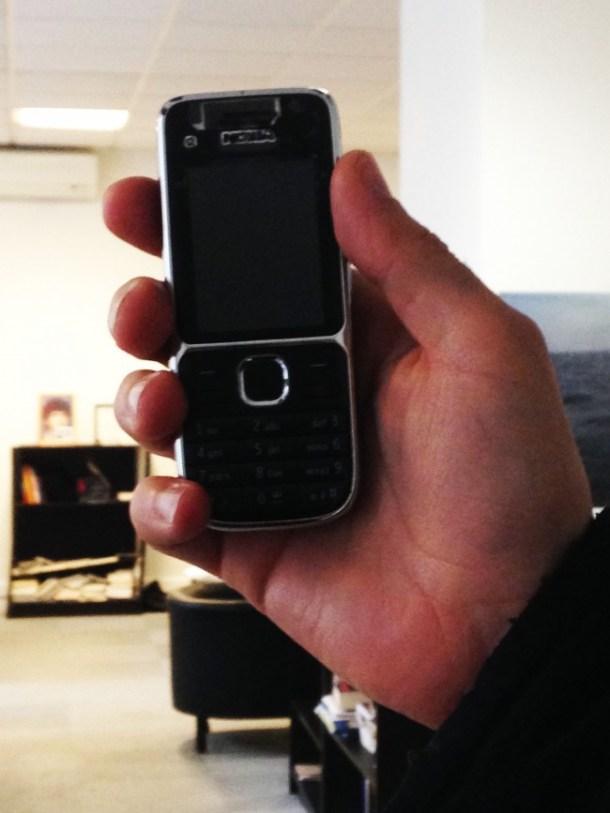 Le téléphone de Xavier, bolide de la protection des données