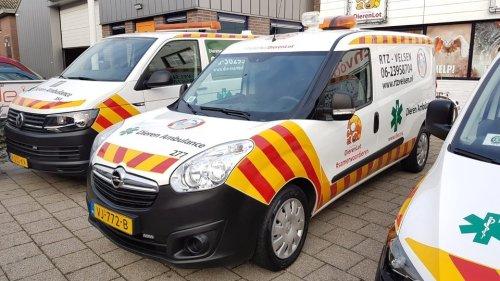 Nieuwe dierenambulance voor RTZ Velsen