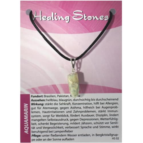 Healing Stones Aquamarin