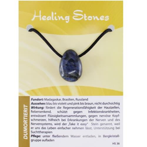 Healing Stones Dumortierit