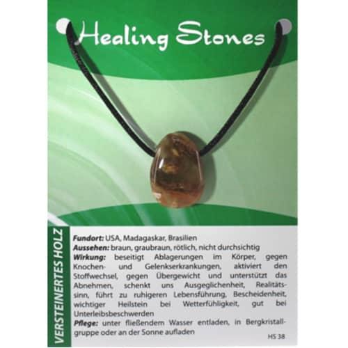 Healing Stones Versteinertes Holz
