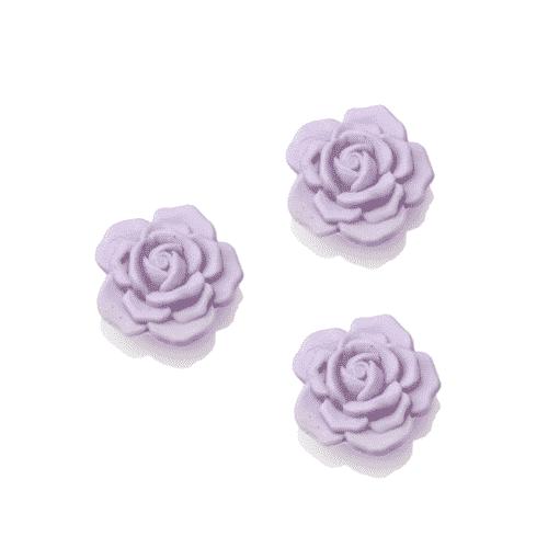 Lavendel Seife in Rosenform mit Schafsmilch 30 g 3 Stück
