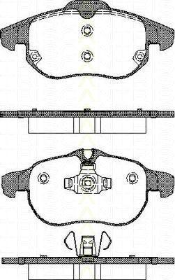 Bremsbelagsatzsatz Vorderachse Opel Astra H GTC 2.0 Turbo