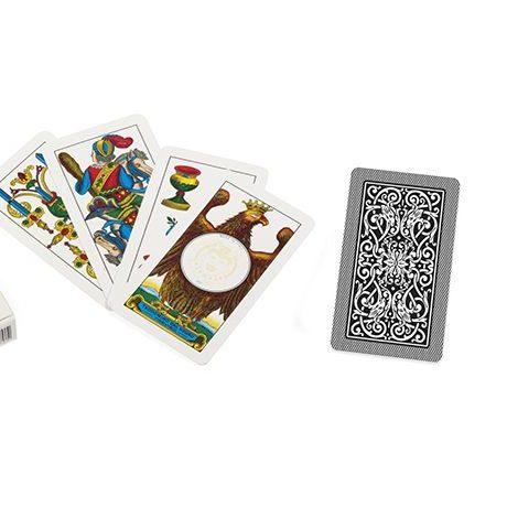 jeu de cartes noel italien