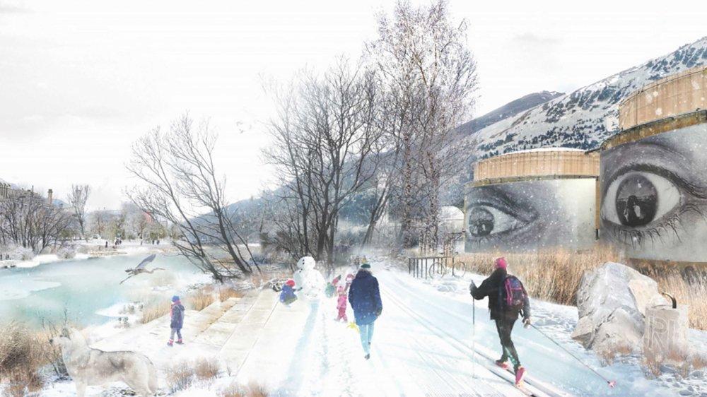 Grâce au projet Rhônature Parc, les berges du Rhône devraient devenir des vrais lieux de vie, plus accessibles et conviviaux.