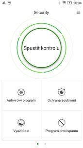 aplikace security