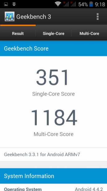Geek Bench