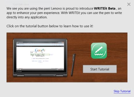 WRITEit-tutorial