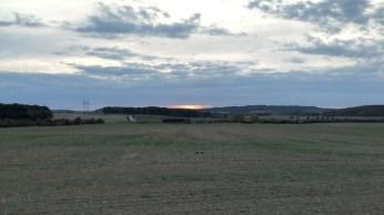 Západ slunce - zapnuté HDR