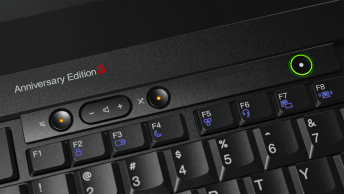 ThinkPad 25 klávenice detail