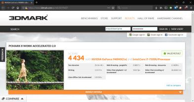 Lenovo ThinkPad 25 PCMark8 Work