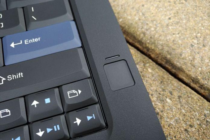 Lenovo ThinkPad 25 fingerprint