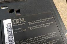 IBM ThinkPad A21e IBM label